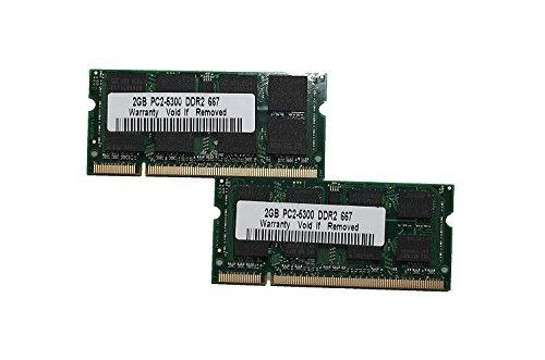 Pc2-6400 Ddr2 Dual Channel (MadFortune memorytek 8GB (2x 4GB) PC26400DDR2800SODIMM 200Pin Dual Channel Laptop Speicher Kit 8GB (2x4GB) SODIMM 800MHz)