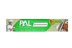 Amit Marketing PAL Aluminium Foil, Silver foil roll