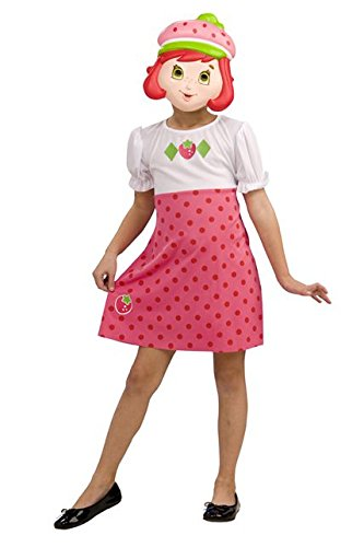 Aptafêtes – cs889564 – Strawberry Shortcake Kostüm – Alter 4/6 – One Size