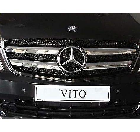 Vito W639 Kühlergrill Edelstahl Chrom 4 Stück 2010 2014 Auto