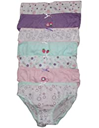 Childrens 7 Pack Girls Knickers Briefs