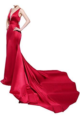 Missdressy - Robe - Dos nu - Femme Rouge