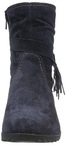 Tamaris 25006, Bottes Classiques Femme Bleu (Navy 805)
