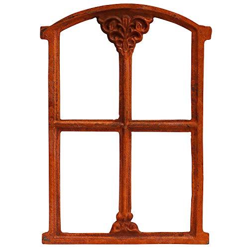 Fenster Rost Stallfenster Eisenfenster Scheunenfenster Eisen 48cm Antik-Stil (z)