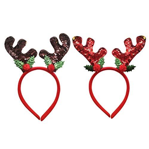 BESTOYARD Diadema Navidad Niños Navidad Disfraces