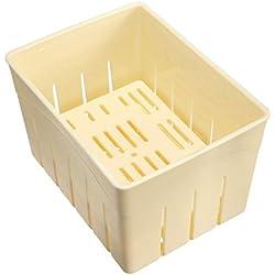 Hausgemachter Tofu-Press-Maker-Form-Kasten-Plastik Sojabohnen-Quark, der Maschine bildet