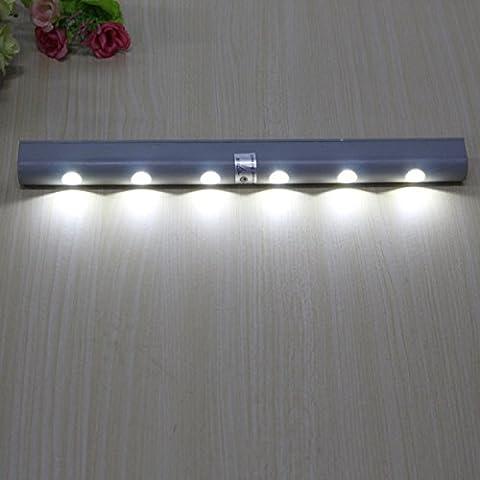 PIR sensore di movimento 6 Batteria LED