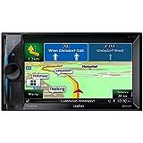 Clarion Radio NX302 2 DIN Navigation Bluetooth mit Einbauset für Renault Megane II Grandtour (KM)
