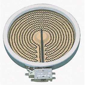 EGO Hilight Heizkörper, Heizelement 10.54111.004 passend für Whirlpool 481281728234