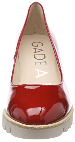 Gadea 40977, Scarpe Col Tacco Punta Chiusa Donna Rosso (Flea Tristan)