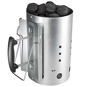 Bruzzzler Ciminiera con impugnatura di sicurezza - accenditore 30 x 19 cm