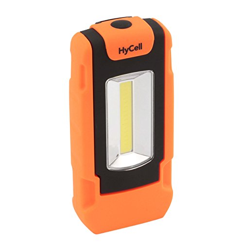 Ansmann 1600-0127 HyCell COB Lampe d'atelier flexible LED Plastique Orange