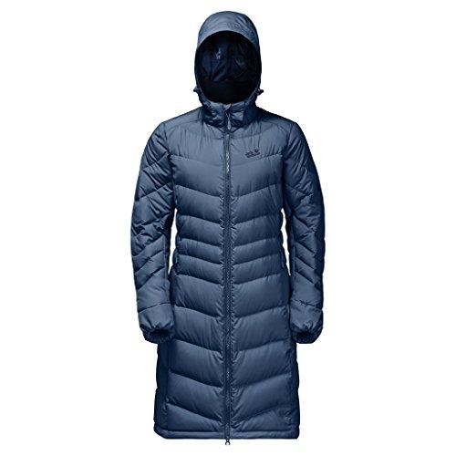 Jack Wolfskin Damen Selen Coat Größe L Dark Sky (Bekleidung Patagonia Womens Down Jacket)
