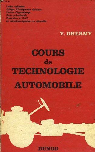 Cours de technologie automobile