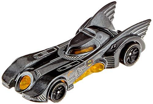 Hot Wheels iD FXB28 - Die-Cast Fahrzeug 1:64 1989 Batmobil mit NFC-Chip zum Scannen in der Hot Wheels iD App, Auto Spielzeug ab 8 Jahren