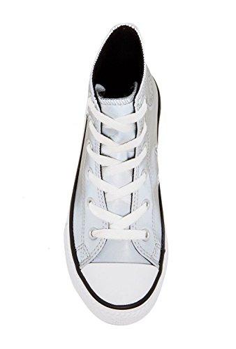 Converse Ctas Season Hi 015850-21-122, Sneaker Unisex bambini Silver/White (Reflective)