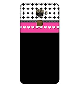 For LeEco Le Pro3 hearts Printed Cell Phone Cases, dots Mobile Phone Cases ( Cell Phone Accessories ), plain Designer Art Pouch Pouches Covers, basic Customized Cases & Covers, girly Smart Phone Covers , Phone Back Case Covers By Cover Dunia