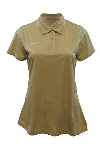 Nike Game Day della Donna Polo Oro / Bianco (Vegas Gold/White)