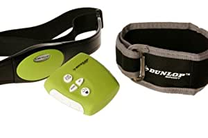 Dunlop DUN-14-12 Momentum Pedometer and Heart Rate Monitor with Chest Belt