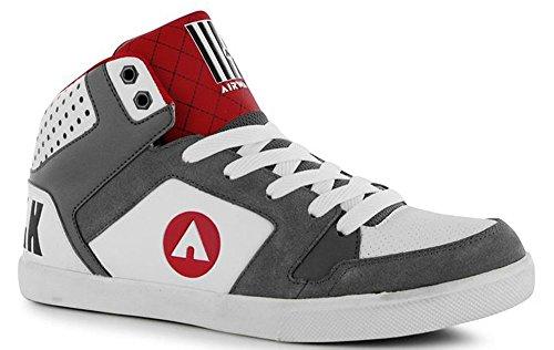 pour-panneaux-superieur-roxbury-mid-top-style-skate-chaussures-multicolore-blanc-gris-rouge-taille-u