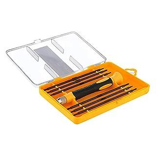 Acentix Präzisions-Schraubendreher-Set für Apple MacBook, tragbares Reparatur-Werkzeug für iPhone, Laptop, Smartphone, MacBook und die meisten digitalen Produkte, 12-teilig