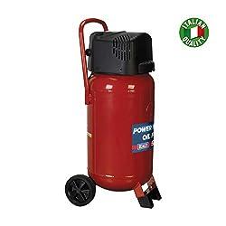 Sealey SAC05020 50ltr Oil Free Belt Drive Compressor 2hp, Red