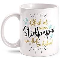 Stiefpapa echter Held Tasse Spruch Geschenk Idee Geburtstag Vatertag Stiefvater