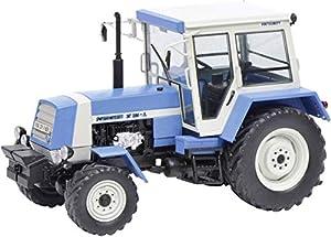 Schuco 450782500 ZT 323 - Escalón de Carreras (Escala 1:32), Color Azul y Blanco