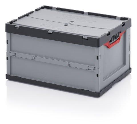 Preisvergleich Produktbild Faltbox mit Deckel 60x40x32 cm, 57 Liter