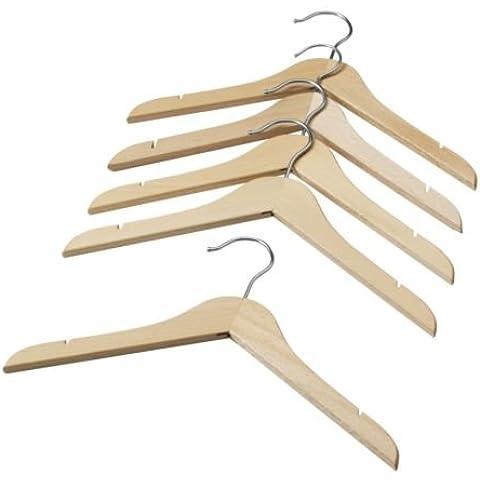 IKEA HANGA, para ropa de niños perchas de madera