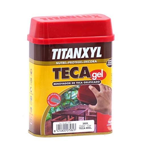 Titan M129427 - Aceite teca titanxyl gel 750 - miel