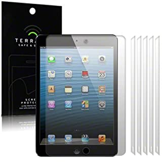 TERRAPIN iPad Mini Screen Protector Case/Guard/Film/Cover 6-in-1 Pack By