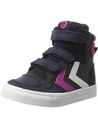 Hummel Stadil Leather Jr, Sneakers Hautes Fille