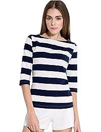 7801ba0abe14a Amazon.es  camiseta rayas negras y blancas - Envío internacional ...