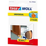 Tesa TE05464-00101-00 Burlete de caucho Perfil E 25m x 9mm marr/ón Standard