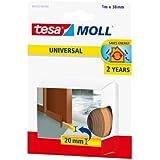 Tesa 05422-00101-00 - Burlete de espuma para umbral de puertas, 95 cm x 38 mm, color marrón