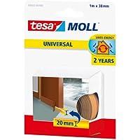 Tesa® ,Tür-, Boden Dichtung, Weich, Schaumstoff braun 1m/38mm/20mm