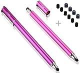 B & D 2 Stück Eingabestift Stylus Touch Pen mit