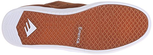 Emerica The Figueroa, Herren Skateboardschuhe brown/white