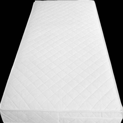 NightComfort/® Matelas matelass/é Respirant Extra /épais pour b/éb/é 120 x 60 x 13 cm