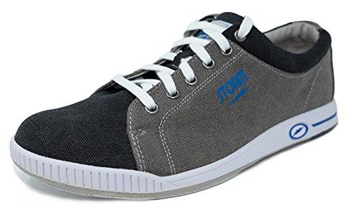 Storm Gust grau/schwarz/blau Bowlingschuhe für Herren und Damen in Größe 39-46 für Rechts- und Linkshänder Größe 43,5