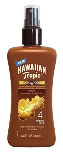 hawaiian-tropic-sunscreen-touch-of-color-sun-care-sunscreen-spray-lotion-spf-4-68-ounce-by-hawaiian-