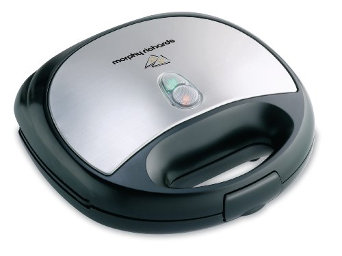 Morphy Richards SM3006 750-Watt Sandwich Maker (Silver and Black)  available at amazon for Rs.1865