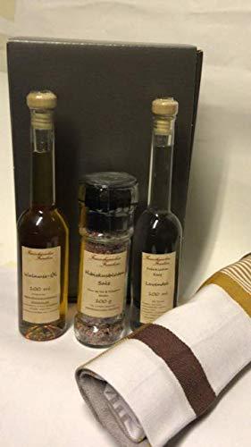 Geschenkpackung Essig Öl Salz Geburtstagsgeschenk Weihnachtsgeschenk für Frauen