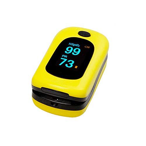 Oximeter ZQ Finger Clip Pulsoximeter Sauerstoffsättigung Meter Puls Detektor Medizinische (3,5 * 3 * 6 cm / 1,38 * 1,19 * 2,36 Zoll)