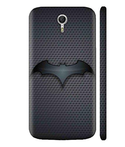 Sibu Print A DC Comic Hero Bat Man Cartoon Character New Fully Dark Combination Designer Printed Polycarbonate Matte Finish Hard Back Case Cover for Lenovo Zuk Z1