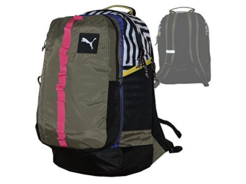 Puma PY Fresh Backpack Equipster Mochila para tiempo libre y deportes de bolsillo olivegrün