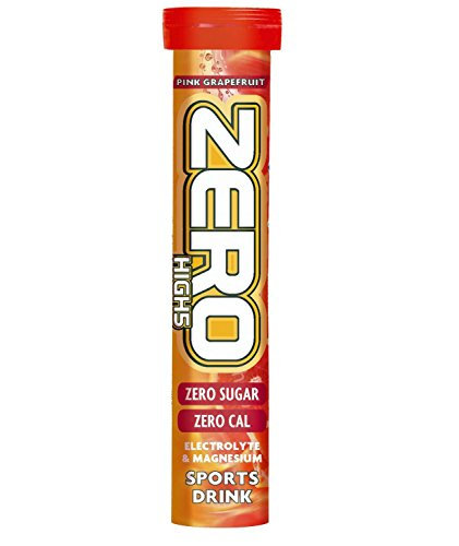 HIGH5 Zero Active Hydration Drink Tabs – 20 Tablet Tube, Pink Grapefruit
