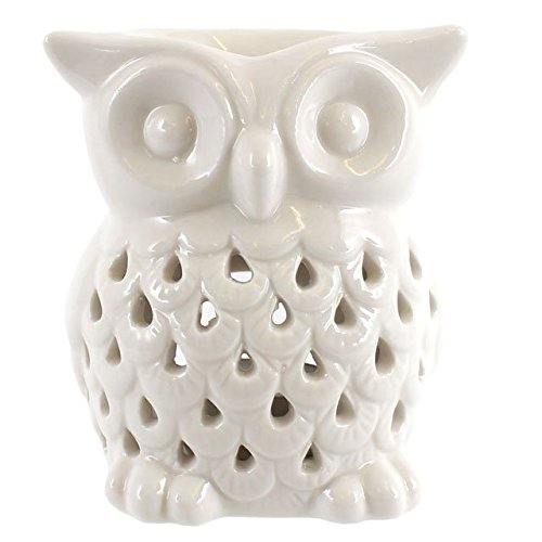 Something-Different-Wholesale-White-Owl-Oil-BurnerWhite