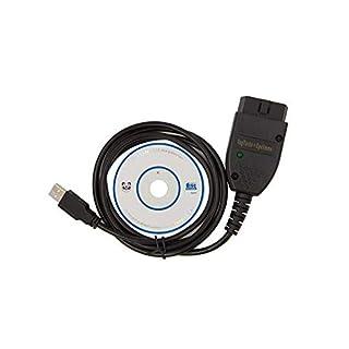 DLSEAUTO USB Vag Tacho 3.01 Opel Immo Airbag VAG OBD2 Kabel Diagnosegerät EEPROM IMMO PIN Kilometerkorrektur
